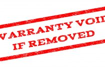 Warranty Void if Removed
